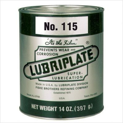 115 Grease Cap. Wt.: 14 Oz, Price For 24 Cans (Part# L0040-001)