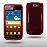 "TPU FLEXY CASE F�R SAMSUNG GALAXY W I8150 IN ROTvon ""CELLAPOD"""