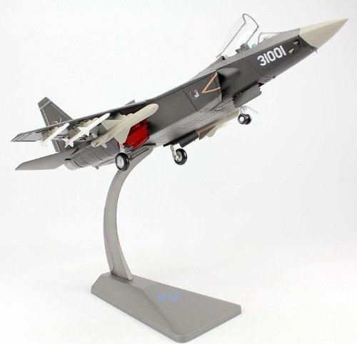 J-31 China J31 Stealth Combat Fighter Plane Aircraft 1/60 すべてoy モデル 金属 新しい for Birthday 贈り物