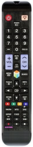 Vinabty New Replaced AA59-00580A Remote Fit for Samsung UN32EH5300 UN32EH5300F UN32EH5300FXZA UN40EH5300F UN40EH5300FXZA UN40ES6100F UN40ES6100FXZA UN40ES6150F UN46EH5300 UN46EH5300F UN46EH5300FXZA UN46ES6100 UN46ES6100F UN46ES6100FXZA UN46ES6150 UN46ES6150F UN46ES6150FXZA UN50EH5300 UN50EH5300F UN50EH5300FXZA UN55ES6100 UN55ES6100F UN55ES6100FXZA UN55ES6150F UN55ES7550 UN55ES7550F UN60ES6100 UN60ES6100F UN60ES6100FXZA LCD LED Tv