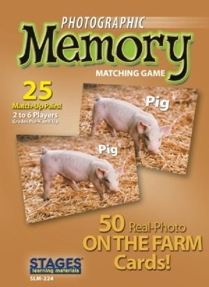 Photographic Memory: On the Farm - Buy Photographic Memory: On the Farm - Purchase Photographic Memory: On the Farm (Stages Learning Materials, Toys & Games,Categories,Games,Card Games,Flash Cards)