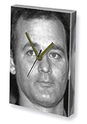 BILL MURRAY - Canvas Clock (A4 - Signed by the Artist) #js001