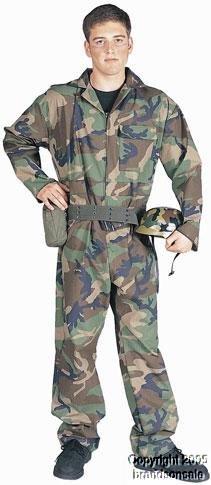 Adult Men's Army Guy Halloween Costume