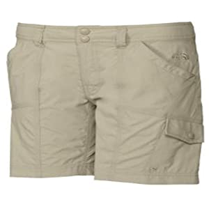 The North Face Horizon Violet Shorts Womens Taupe Green Size 6