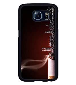 Go Yankee cigarette ash Back Cover For Samsung galaxy s6