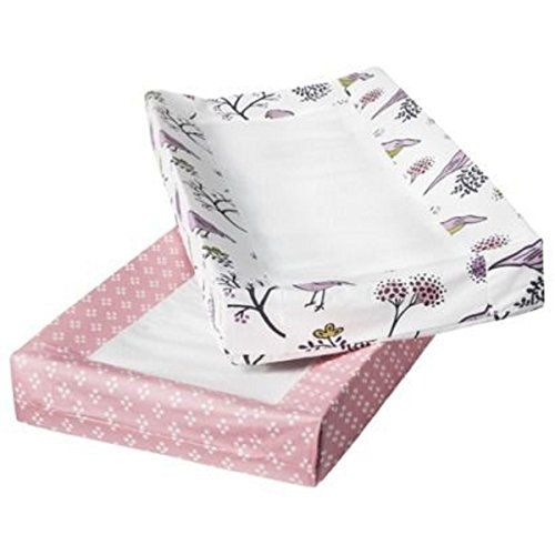 Room 365 Birds and Flowers Changing Pads 2 pack - 1