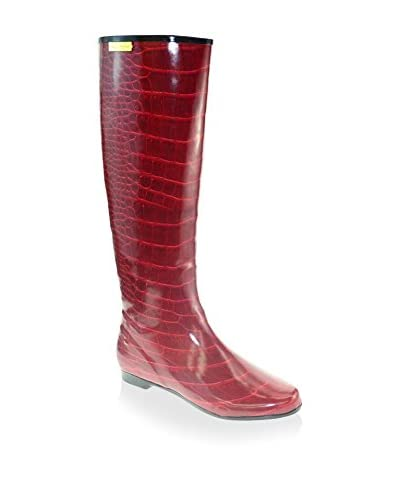 Henry Ferrera Women's Tall Boot  [Red Croc]
