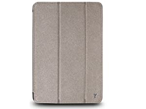 The Joy Factory SmartSuit iPad mini Ultra-Slim Snap-On Stand/Case with Wake-up/Sleep, Bronze (CSE103)