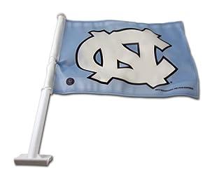Buy NCAA North Carolina Tar Heels Car Flag by Rico