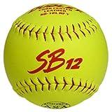 Dudley ASA SB 12L 12 Slow Pitch Softball - Dozen by Dudley