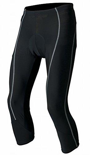 (サイトウインポート) saitoimport3Dパッドレーサーパンツ膝下丈 S 黒/グレー
