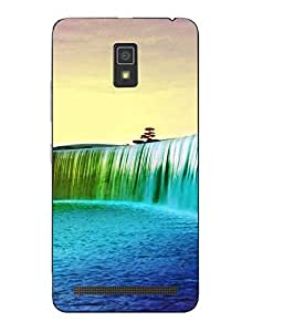 Case Cover Abstract Printed Colorful Soft Back Cover For Lenovo A7700