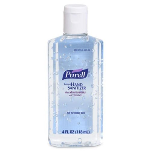 Purell Instant Hand Sanitizer 4 Fl Oz (24 Pack) annemarie borlind zz sensitive day cream 1 7 fl oz pack of 3