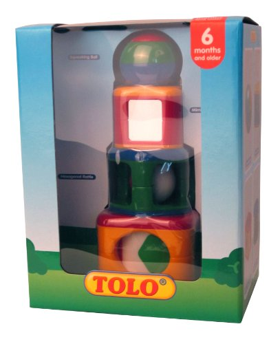 Tolo Toys Stacking Activity Shapes
