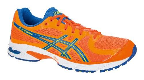 ASICS Men's Gel-DS Sky Speed 3 Running Trainer (T2C3N 3007) (Neon Orange/Neon Yellow/Marine Blue) (UK 11 / EU 46.5 / US 12)