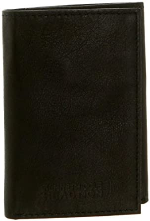 Kenneth Cole Reaction Mens Nappa Pay It Forward Wallet, Black, One Size
