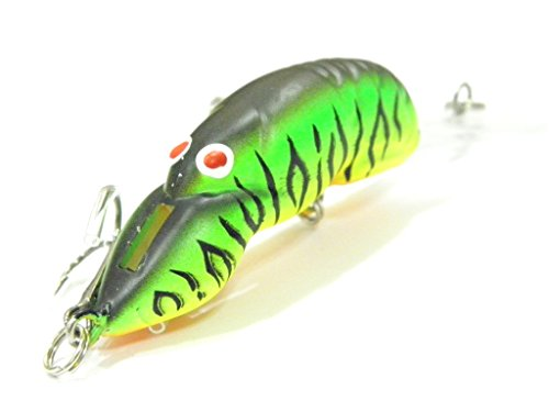wLure Crankbait Hard Lure Bait Deep Diver Tight Wobble Slow Floating Jerkbait Fishing Lure C569 (C569X39)