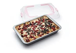 Kitchen Craft Sweetly Does It Non-Stick Bake and Carry Brownie Tray