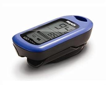 Nonin Go2 Achieve Fingertip Pulse Oximeter, Blue
