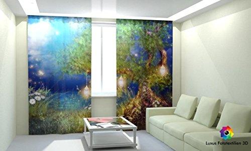 Kinderzimmer fotogardine 3d foto vorhang gardine vorh nge for Dekoration bestellen