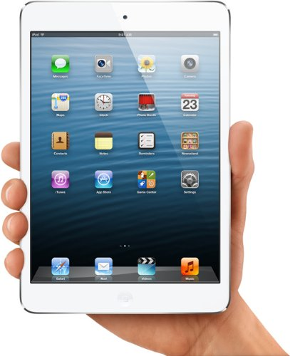 Apple iPad Mini 64Gb Wi-Fi + 4G LTE Cellular (Factory Unlocked) - White