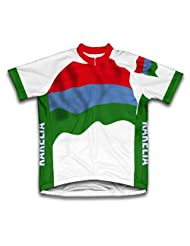 Karelia Flag Short Sleeve Cycling Jersey for Women