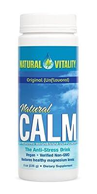 Natural Vitality Natural Calm Magnesium Anti Stress, Organic, Original