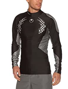 Uhlsport Protection Underwear Maillot football homme Noir/Argent M