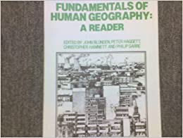 Human Geography Reader (First Edition) (2014, Paperback) New