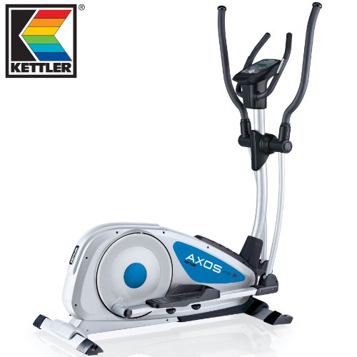 Kettler Viteo P Elliptical Cross Trainer 2013 Blue/Grey - 16 Resistance Levels | 20 Stone User Limit | 3 Years Parts  &  Labour Warranty
