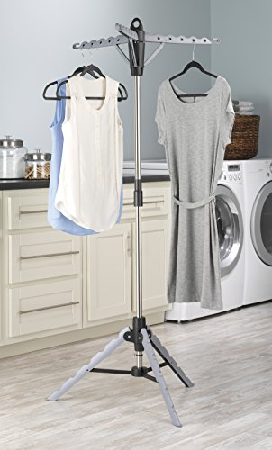Collapsible Folding Tripod Clothes Dryer Rack Hanger