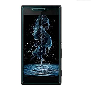 Royal Touch TM SONY XPERIA M2 TEMPERED GLASS SCREEN PROTECTOR/BUBBLE FREE APPLICATION/HOLE FOR FRONT PROXIMITY SENSOR/NO HANGING PROBLEM/HIGH QUALITY JAPANES AGC GLASS MATERIAL