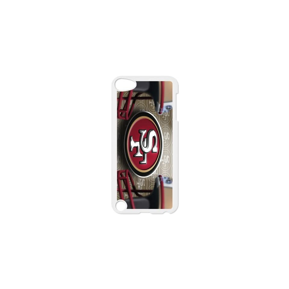 DDS Supplier Licensed NFL San Francisco 49ers Portrait Snap on Hard Case for Apple ipod touch 5th new season Fashion Cover cool creative gift ultrathin Premium Quality by Distinctive Design Studio   Players & Accessories