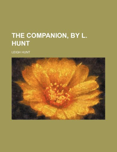 The Companion, by L. Hunt