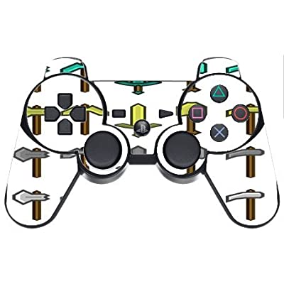 Ps3 Dual Shock Wireless Controller Vinyl Decal Sticker Skin, Popular Game Tools