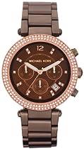 Michael Kors Parker Chronograph Chocolate Dial Ladies Watch MK5578