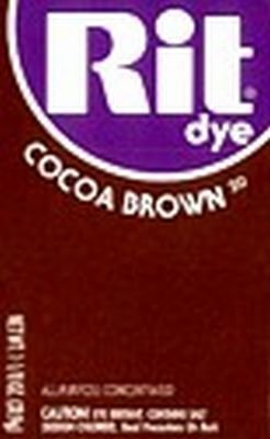 Rit Dye 32 g Cocoa Brown Powder (6-Pack)