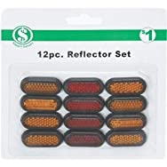 dib Global Sourcing GA003 Reflectors - Smart Savers Pack of 12