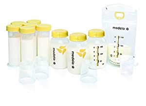 Medela Value Pack Bpa-free Feeding Gift Set : New Wide Base Nipple (2 pack)