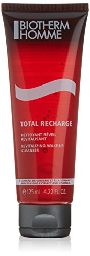 Biotherm Struccante, Homme Total Recharge Nettoyant Revitalisant, 125 ml