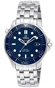 Omega Men's 212.30.41.20.03.001 Seamaster Diver 300m Co-Axial Automatic Swiss Automatic Silver-Tone Watch from Omega