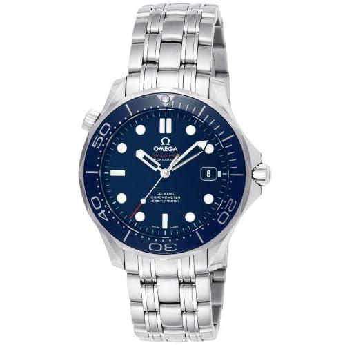 [オメガ]OMEGA 腕時計 シーマスター ブルー文字盤 コーアクシャル自動巻 300M防水 クロノグラフ 212.30.41.20.03.001 メンズ 【並行輸入品】