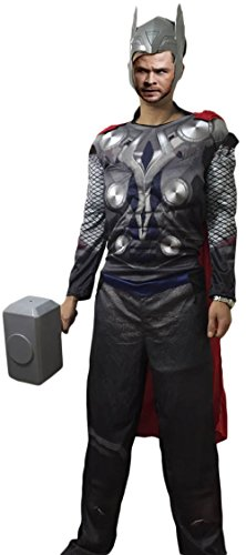Ace Halloween Adult Men's the Avengers Muscle Thor Costumes