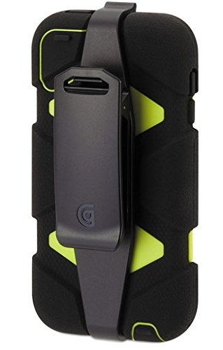 Griffin Technology Survivor Case for iPod Touch 5G, Black/Citron