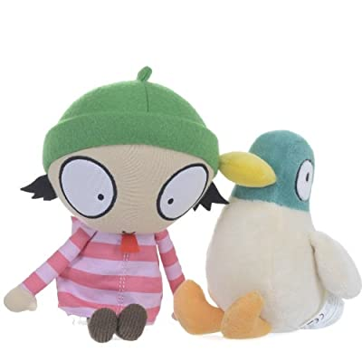 Sarah And Duck Cbeebies Twin Pack Plush With Sound from BabyLand