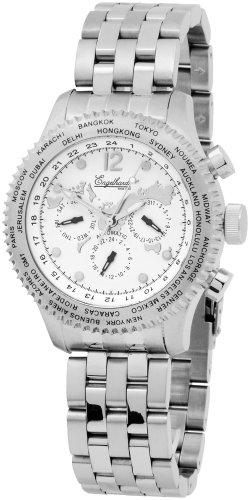 Engelhardt - 386722028019 - Montre Homme - Automatique - Analogique - Bracelet Acier Inoxydable Argent