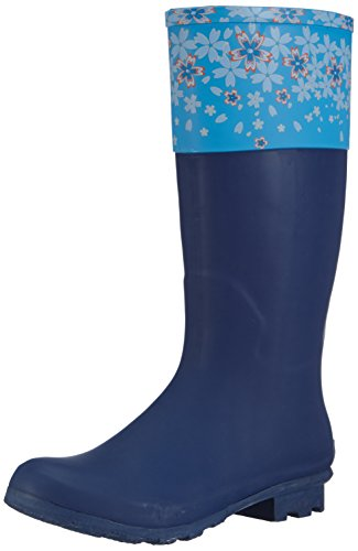 Sanita Agda Welly, Stivali in gomma, imbottiti donna, Blu (Blau (blue / 5)), 39