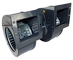 Dayton blower 312cfm 1350rpm 115volts 60 50hz 2c069 for Dayton electric fan motors
