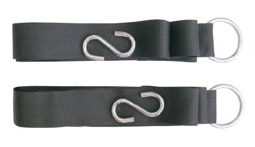 niceeshop(TM) Outdoor Nylon Hammock Lashing Hammock Strap/Belt With S Shape Hook