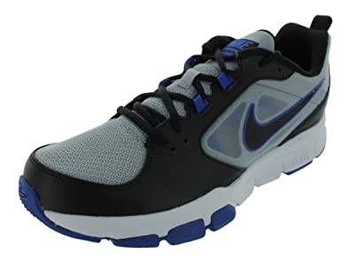 Nike Men's NIKE AIR VELOCITRAINER TRAINING SHOES 8 Men US (WOLF GREY/BLACK/GM ROYAL WHITE)
